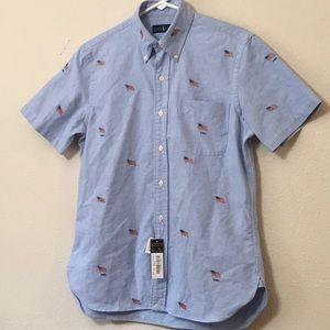 Men's Small Ralph Lauren Button Up America Shirt